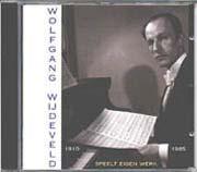 Wolfgang Wijdeveld speelt eigen werk
